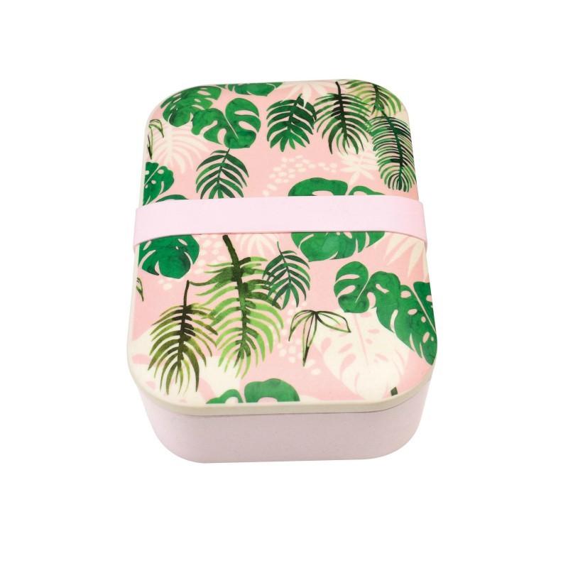 Boîte à repas bambou Tropical
