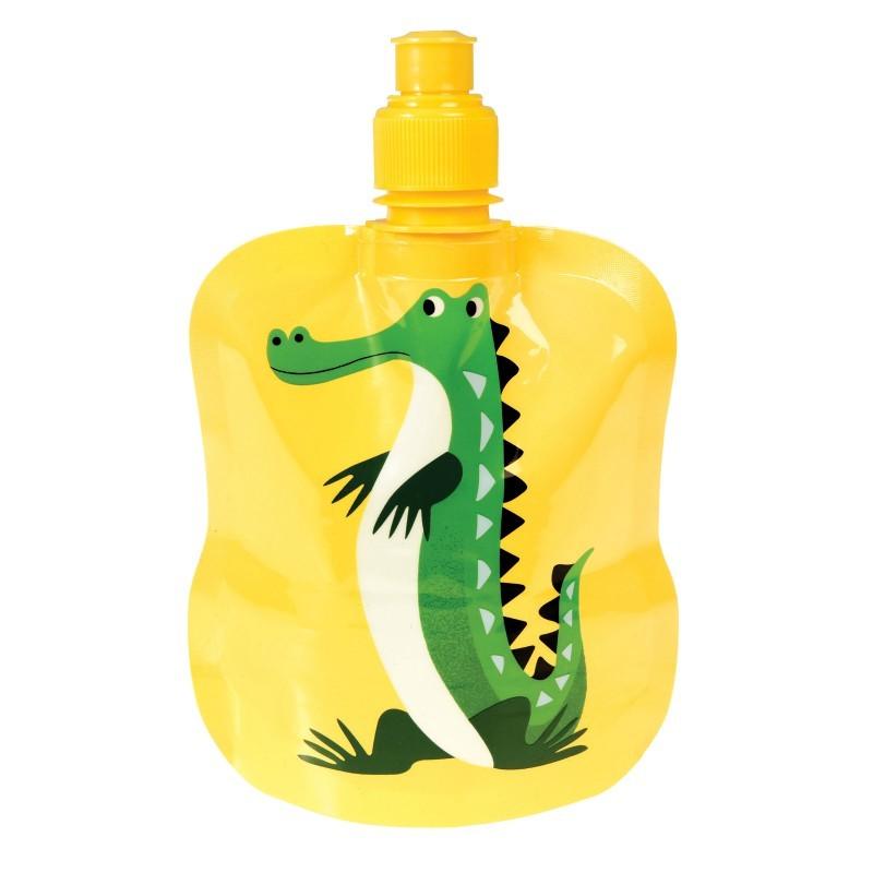 Gourde souple Crocodile