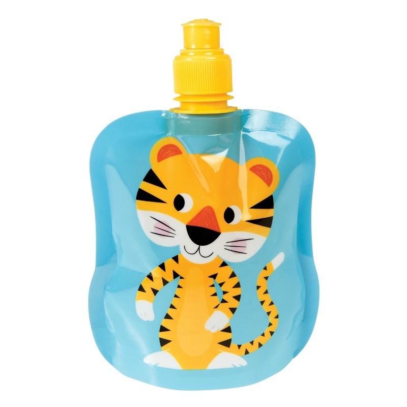 Gourde souple Tigre