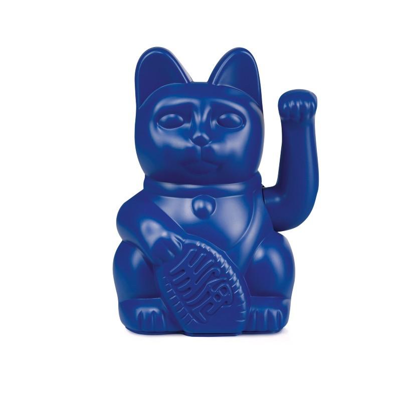Lucky cat Bleu foncé