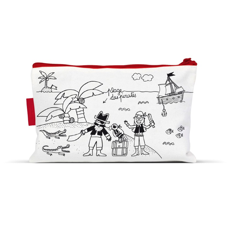 Trousse à colorier Pirates