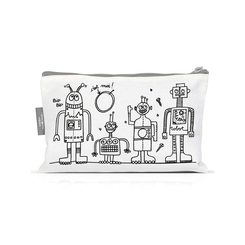 Trousse à colorier Robots