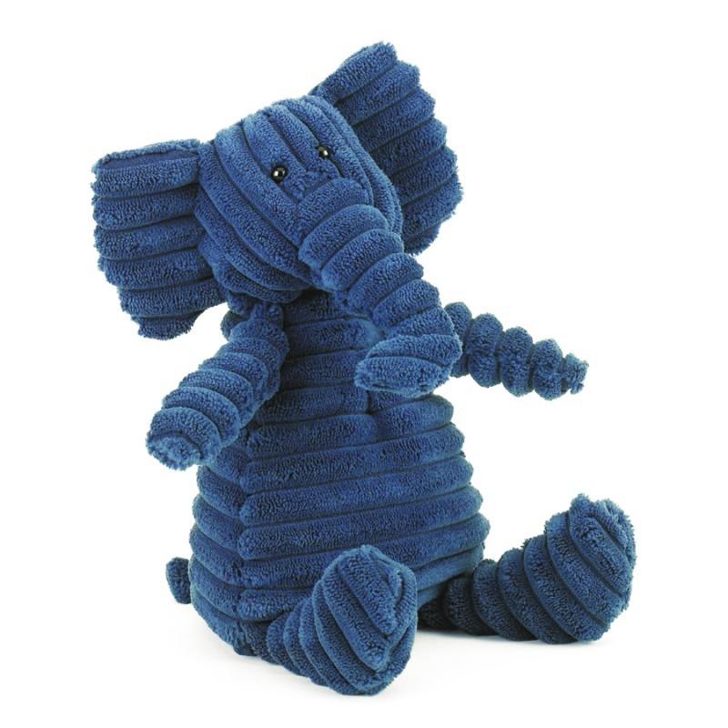 Petit éléphant bleu -...