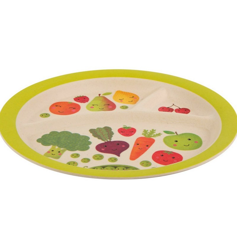 Assiette bambou Fruits &...