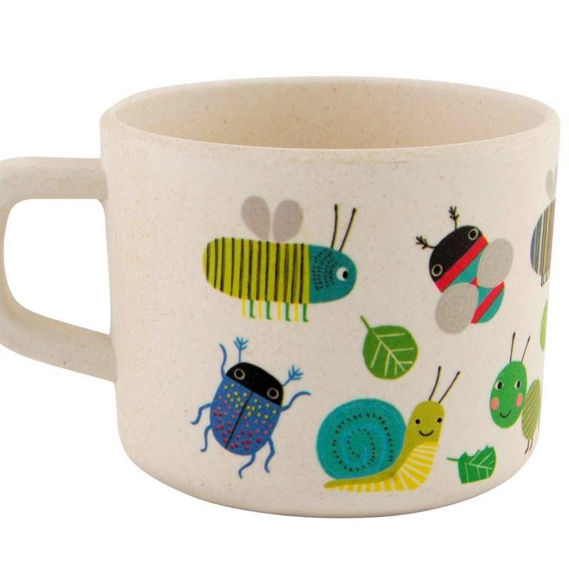Mug bambou Insectes