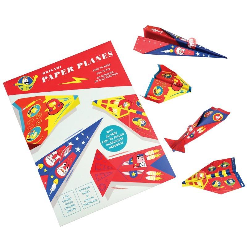 Kit avion origami