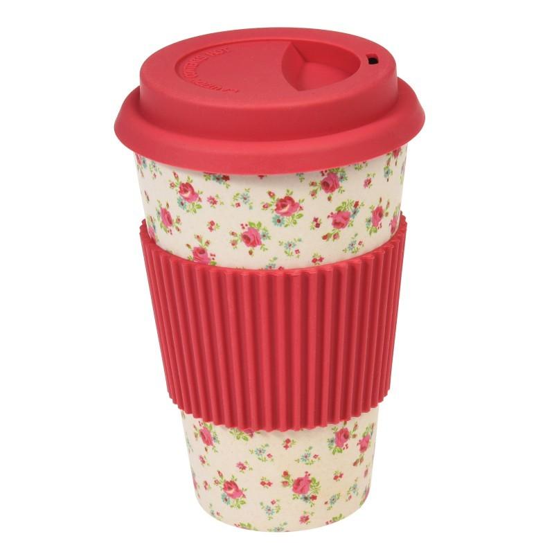 Mug de voyage Petite rose...