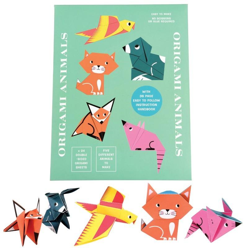 Kit animaux origami