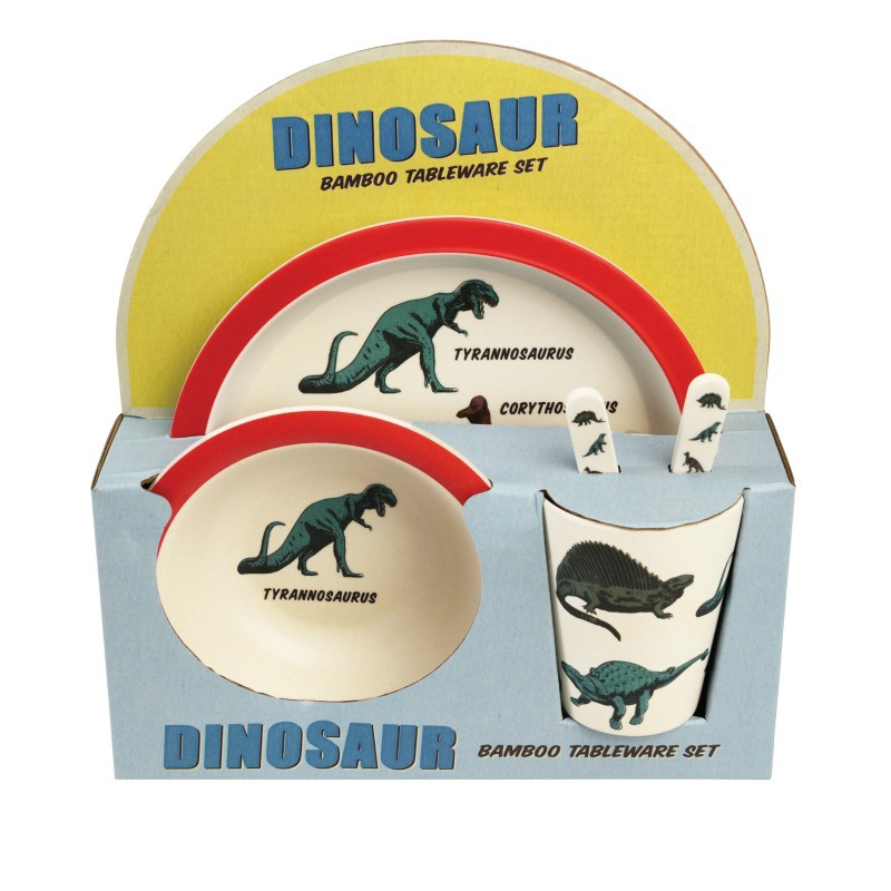 Coffret repas dinosaures en...