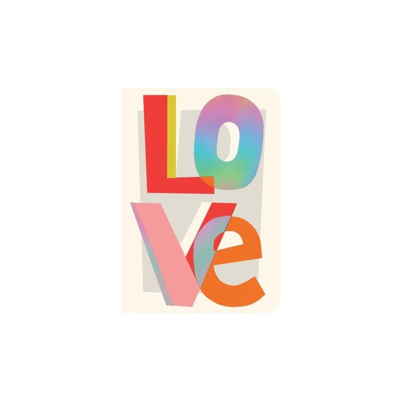 Carnet de notes A6 Love