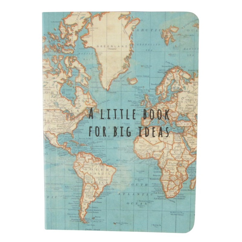 Petit carnet World Map