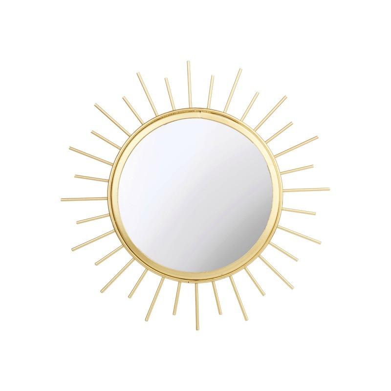 Miroir soleil rond