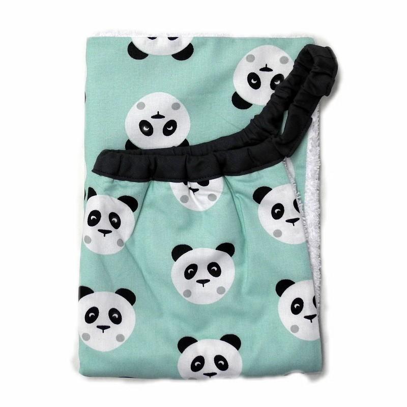 Serviette élastique Panda