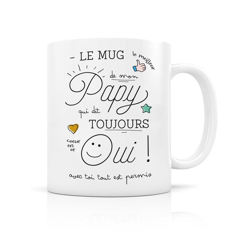 Mug Papy qui dit toujours oui