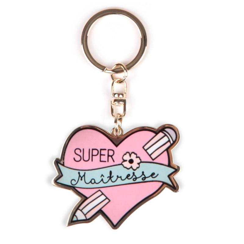 Porte clés Super maîtresse