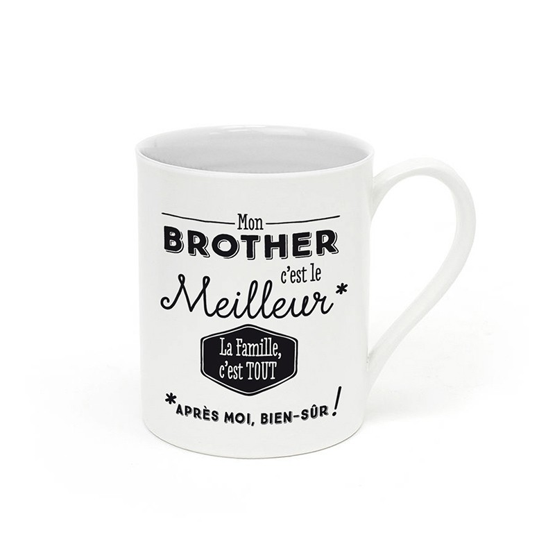 Mug  Mon brother c'est le...