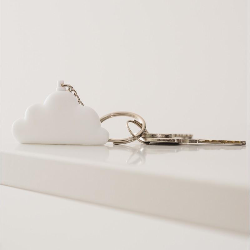 Porte clés Nuage blanc