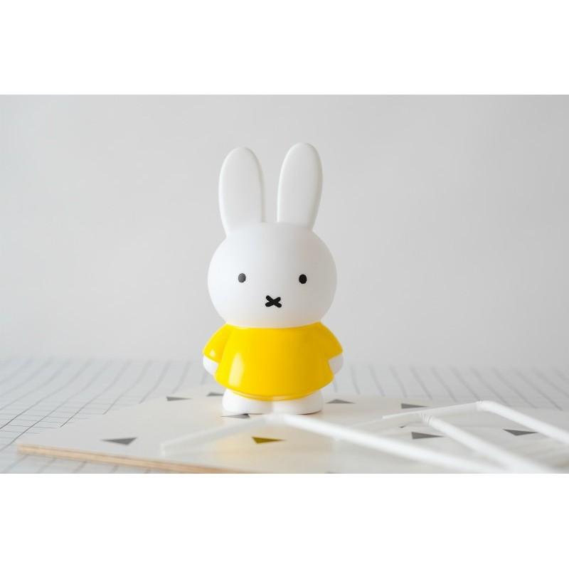 Miffy petite tirelire jaune