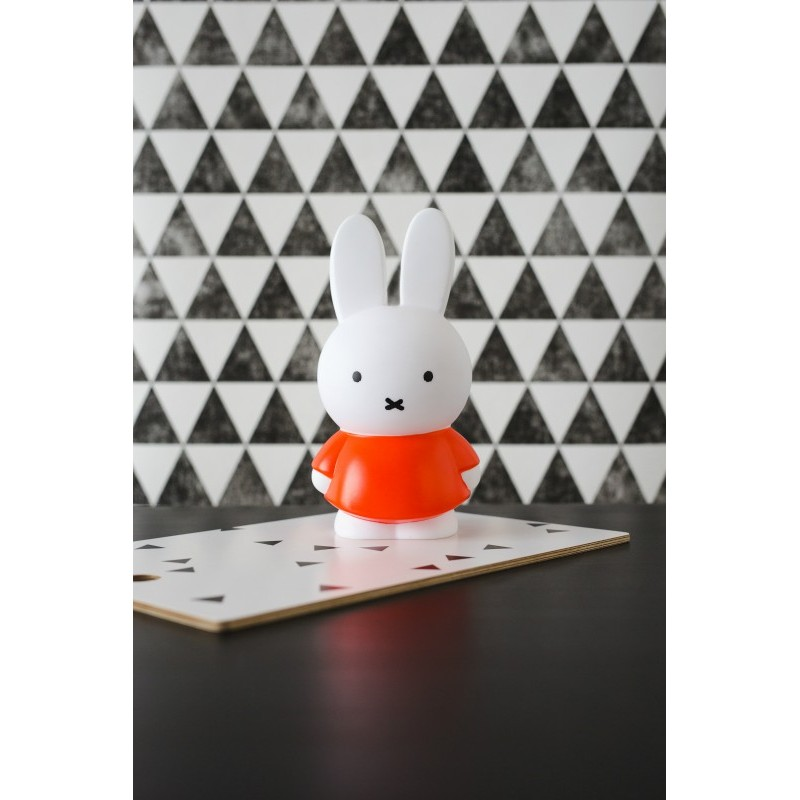 Miffy tirelire orange - Médium