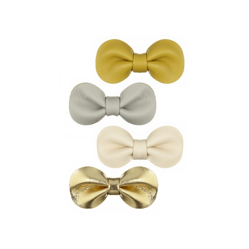 Lot de 4 barrettes noeuds...