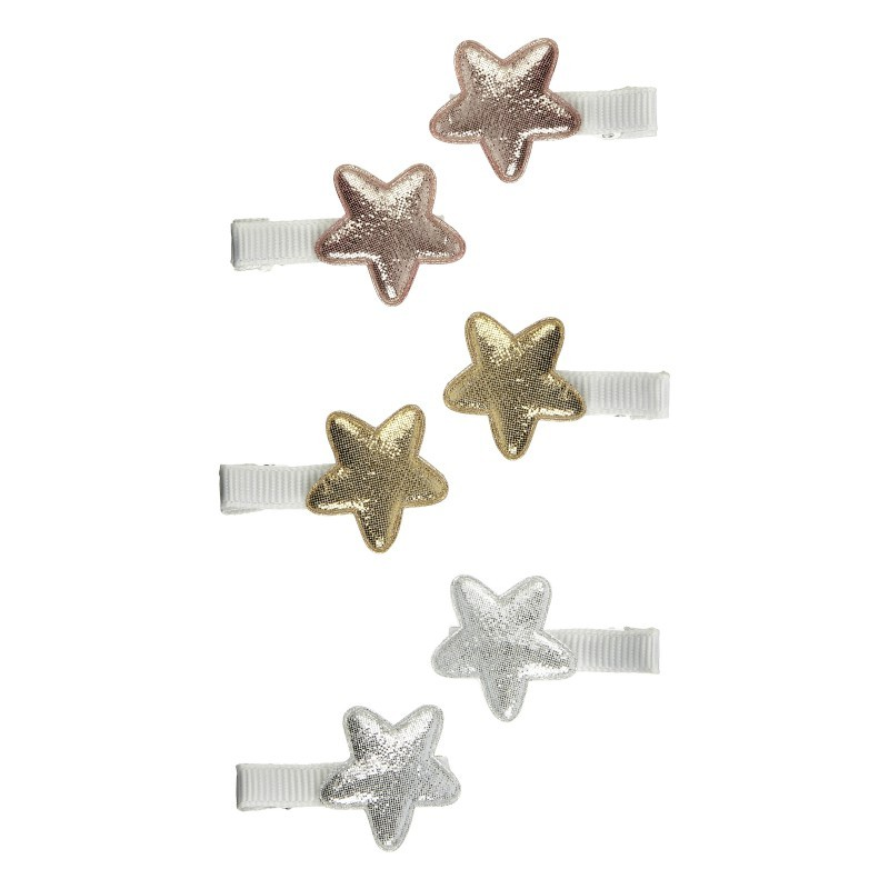 Lot de 6 mini barrettes...