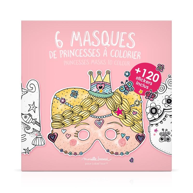 Pochette de 6 masques à...
