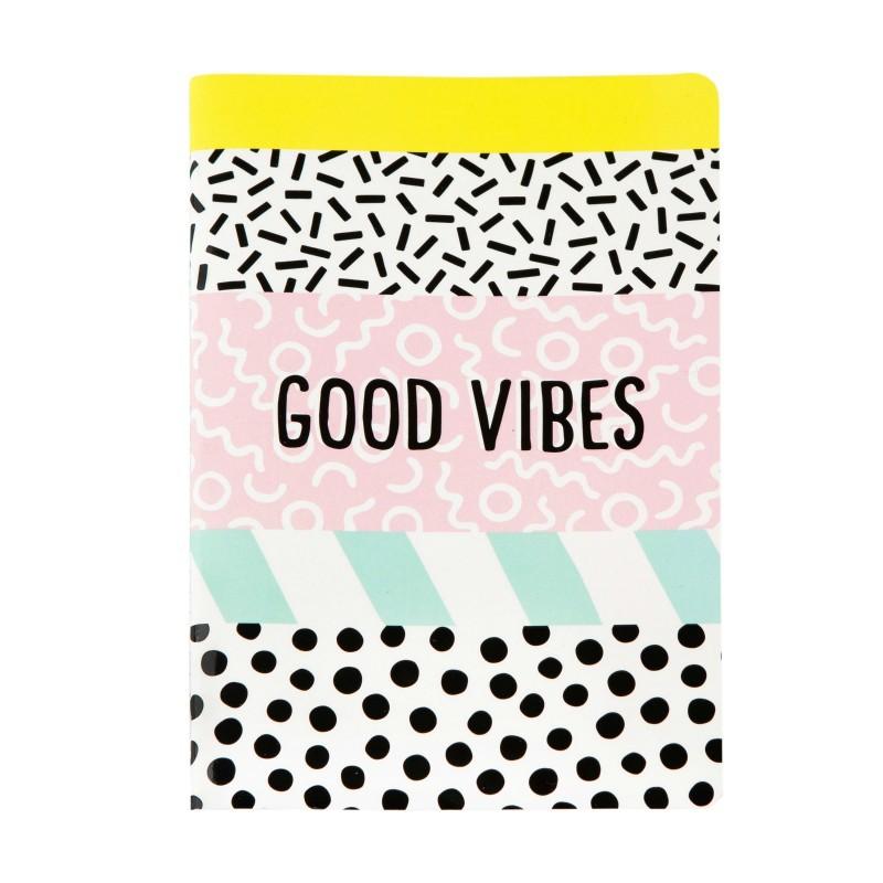 Carnet A5 Good vibes