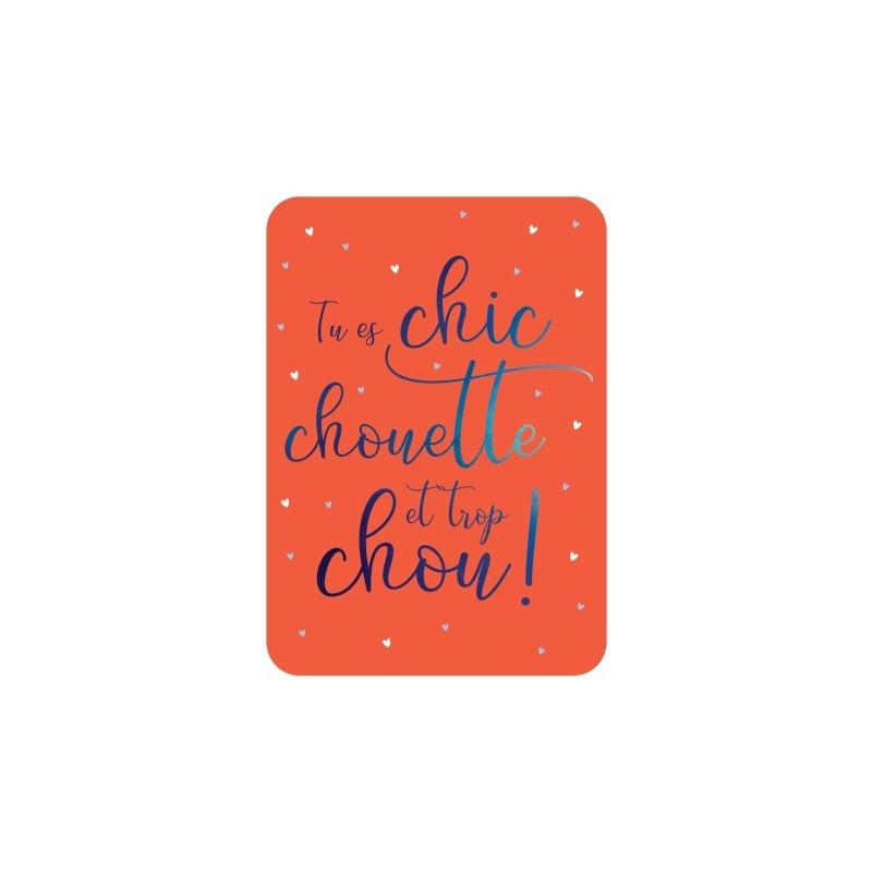 Carte postale Chic,...