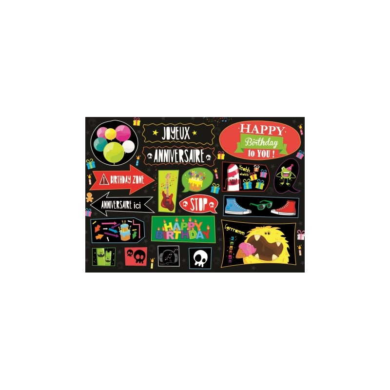 Carte stickers Pirates