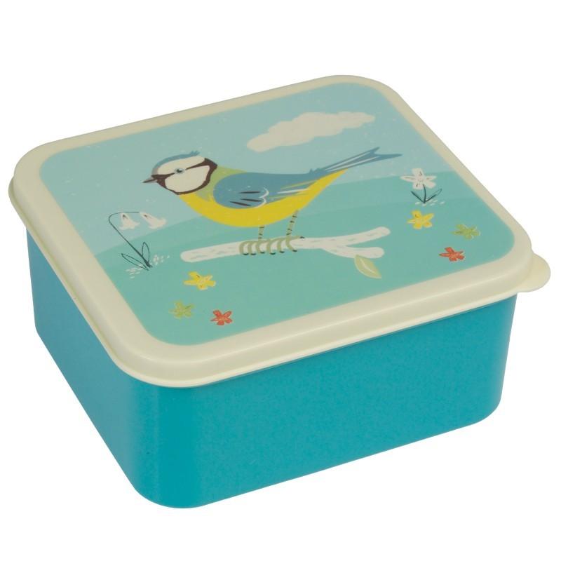 Boîte à Lunch oiseau bleu