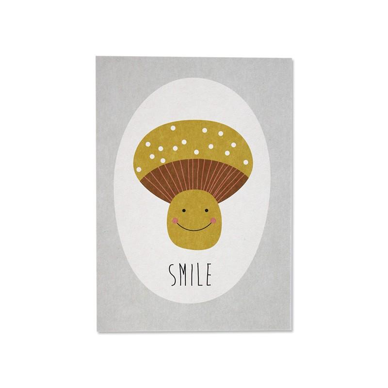 Carte simple Smile
