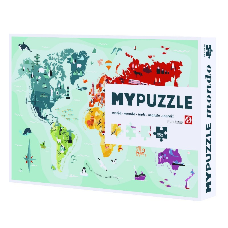 My puzzle Monde