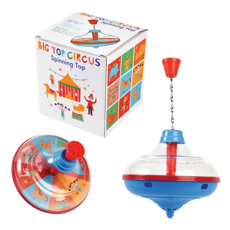 Toupie acier Cirque