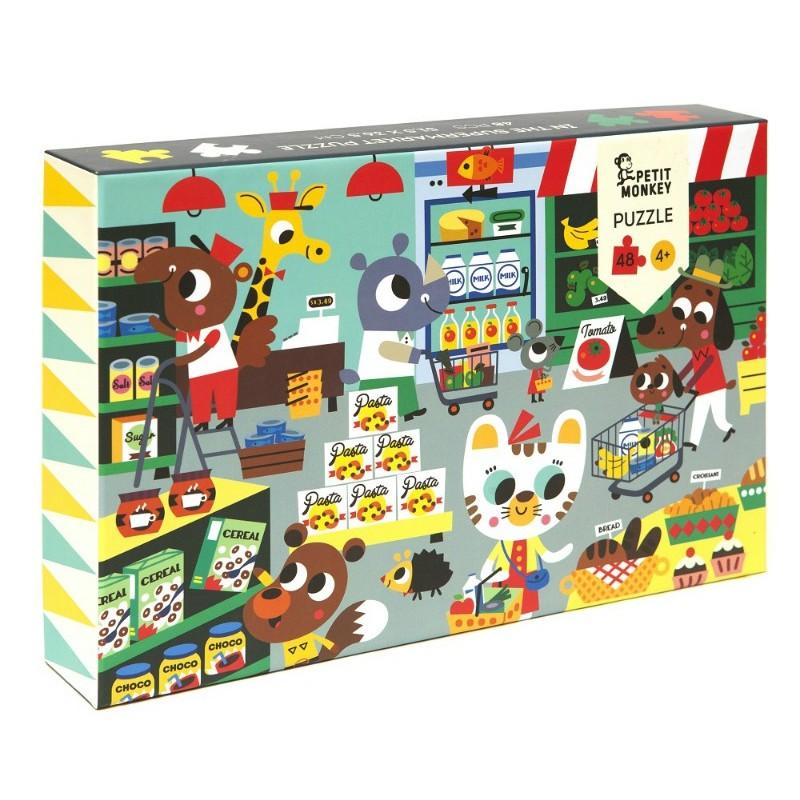 Puzzle Supermarché de 48...