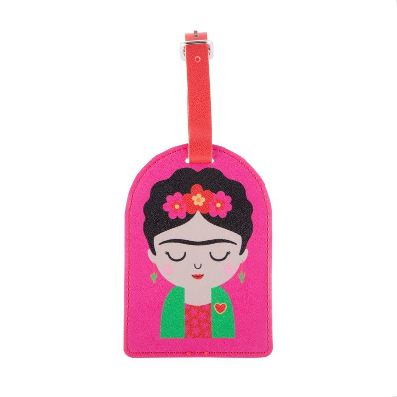 Etiquette à bagage Frida Kahlo