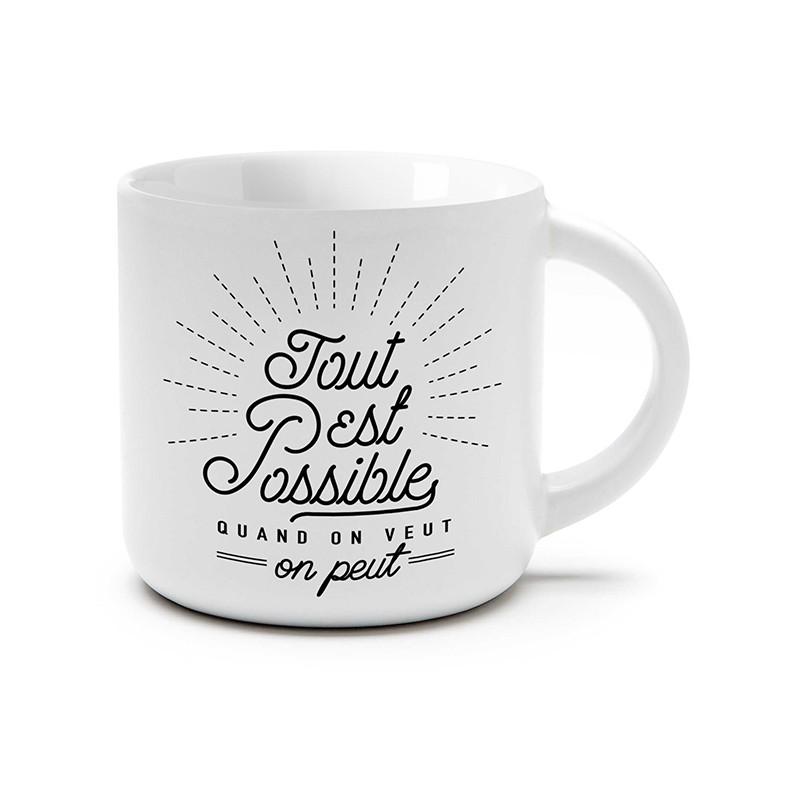 Tasse Tout est possible...