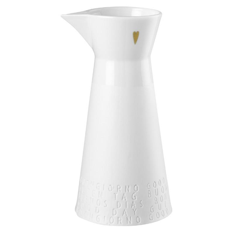 Pichet en porcelaine 1 litre