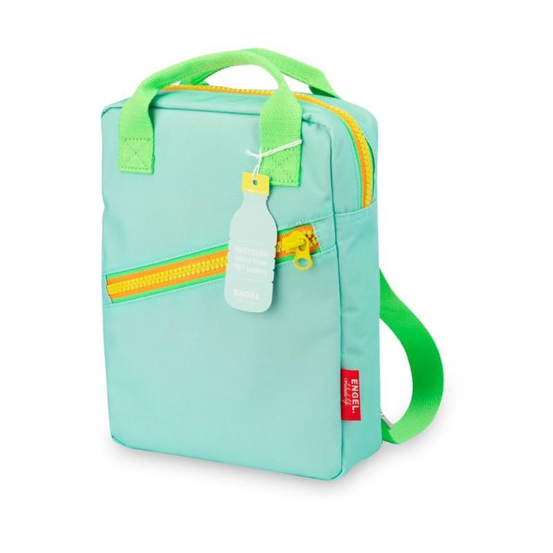 Petit sac à dos zippé bleu