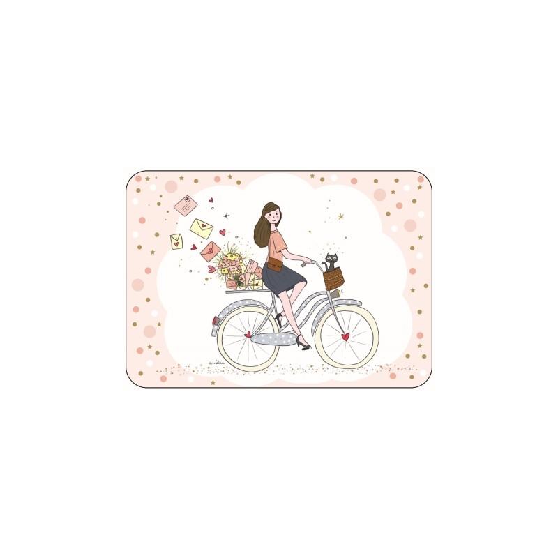 Carte Balade à bicyclette