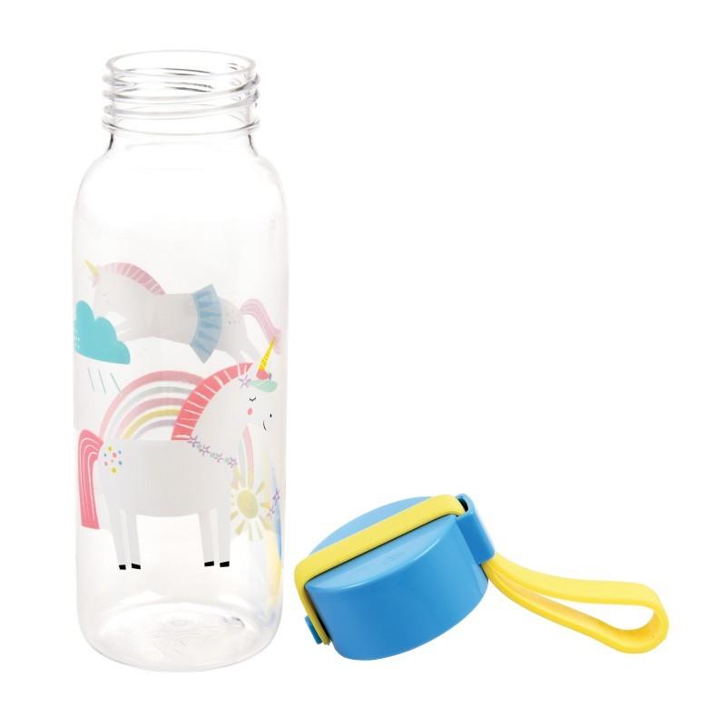 Petite bouteille d'eau Licorne