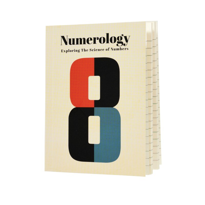 Carnet de Notes A6 Numérologie