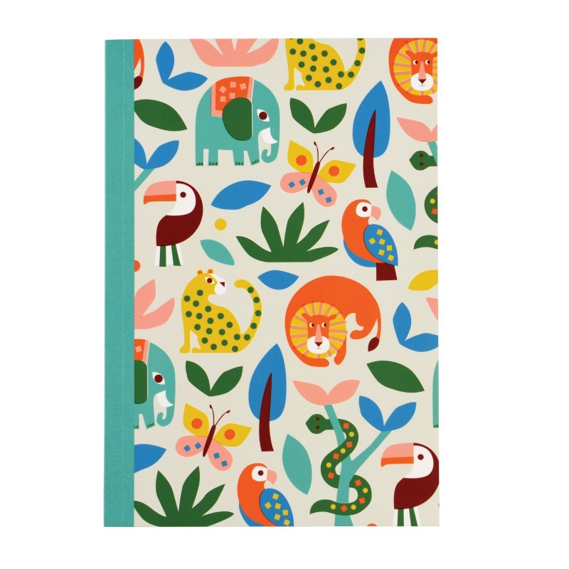 Carnet A5 Animaux sauvages