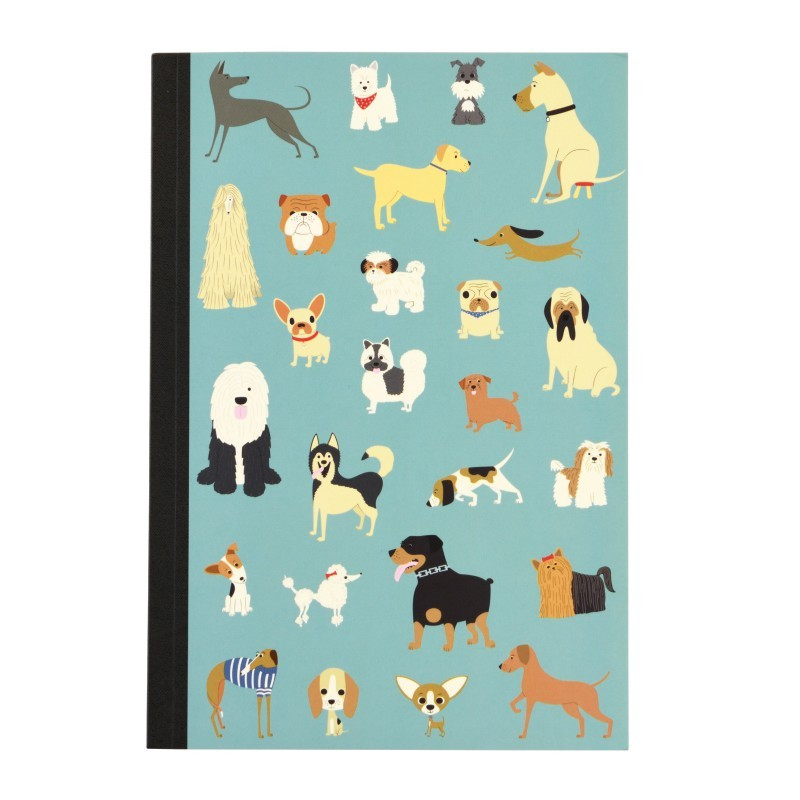 Carnet A5 Chiens