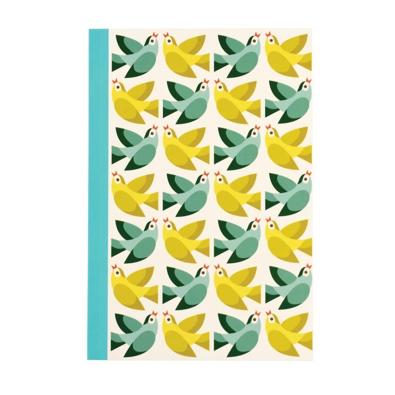Carnet A5 Love birds