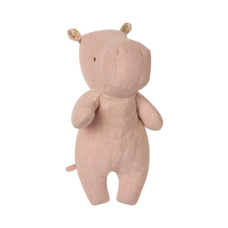 Petit doudou hippo rose