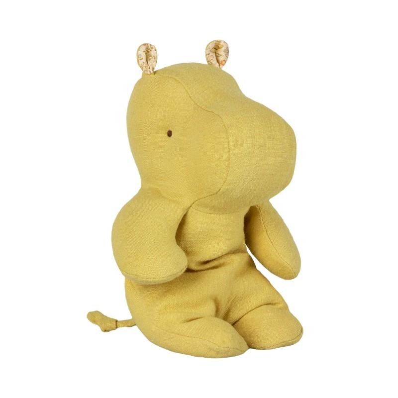 Petit doudou hippo jaune