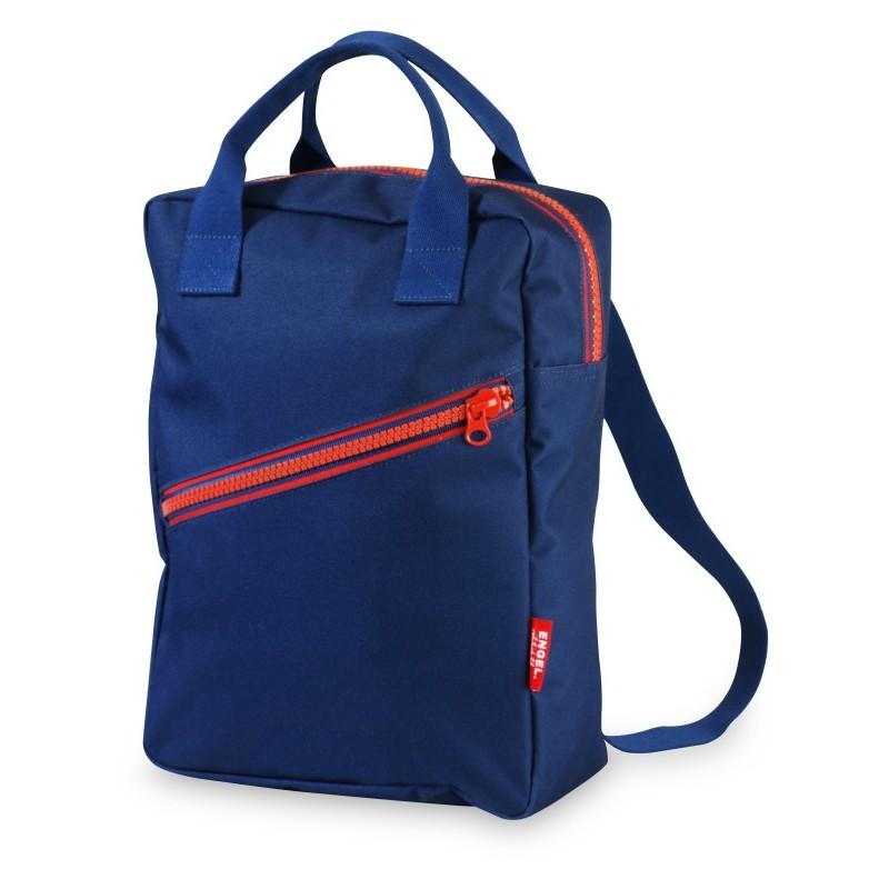 Petit sac à dos Zippé Bleu...