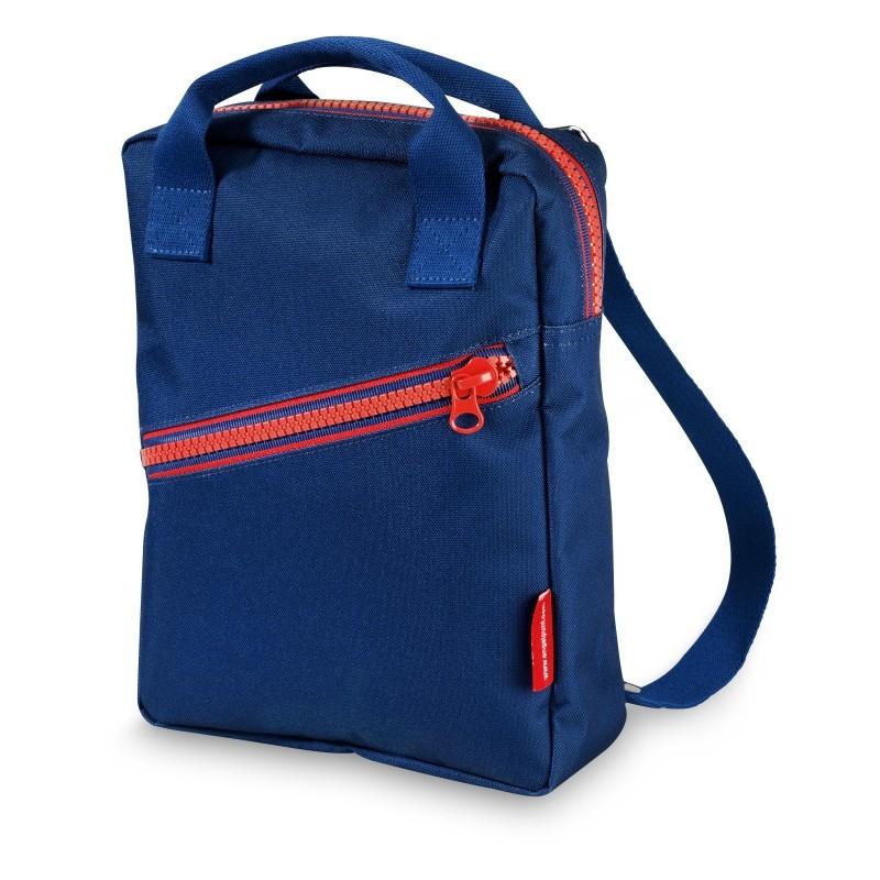 Grand sac à dos Zippé bleu...