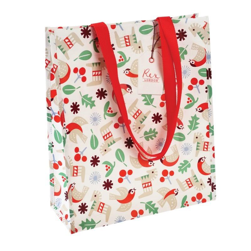 Sac shopping Nordic christmas