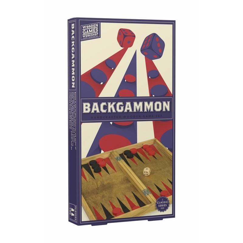 Jeu de Backgammon en bois